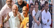 कर्नाटक: येदियुरप्पा ने कहा लोकतंत्र की जीत तो राहुल ने बताया ईमानदारी और जनता की हार