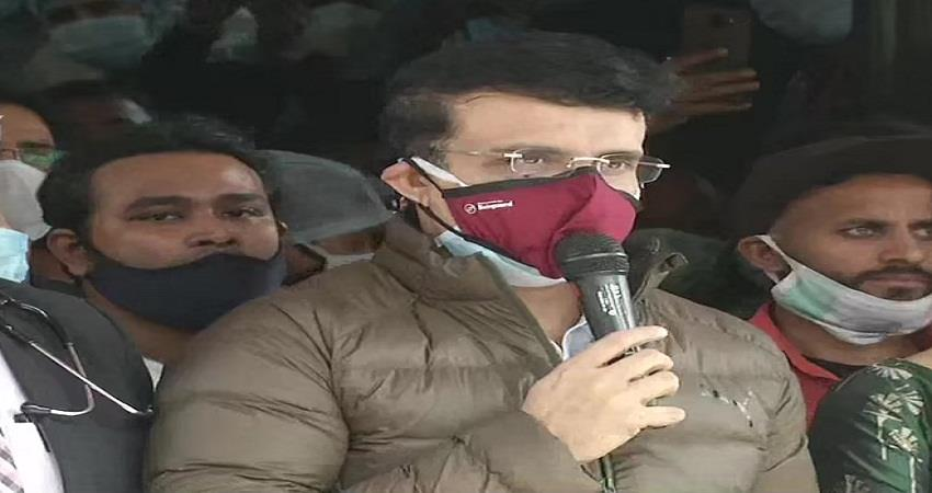 sourav ganguly discharged from hospital sohsnt