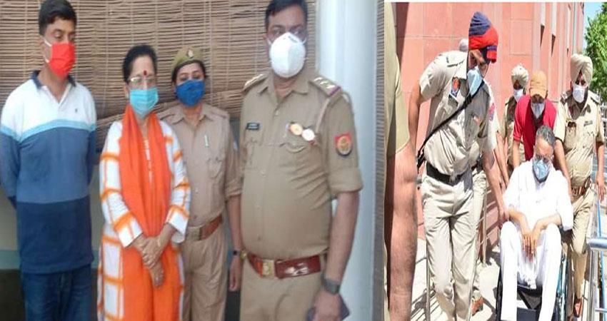 mau''''s doctor alka rai and two arrested in mukhtar ambulance case musrnt