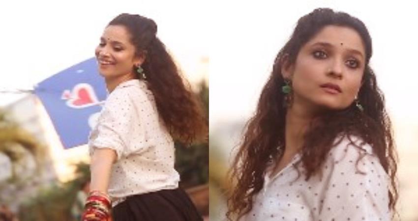 ankita lokhande plays sushant singh rajputs song on makar sankranti sosnnt