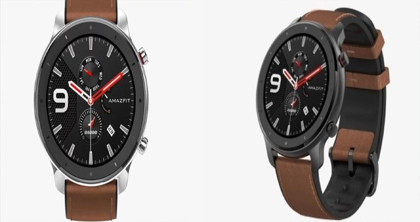 huami launched amazefit gtr in india 47 mm smartwatch launched