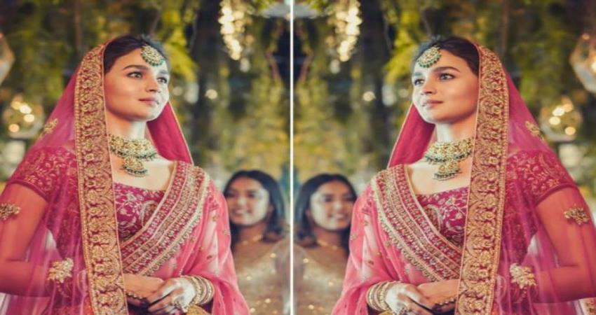 alia bhatt bridal look viral on social media