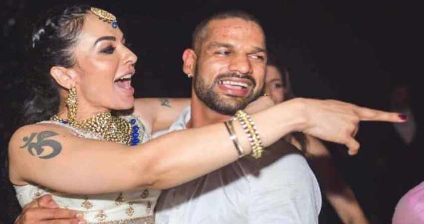 shikhar dhawan and his wife aesha mukherji divorced sosnnt