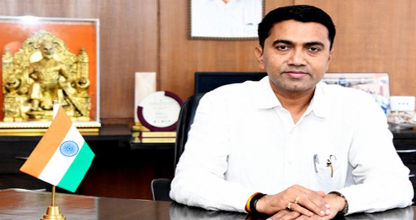 Goa Chief Minister Pramod Sawant infected with Corona virus tweeted information prshnt