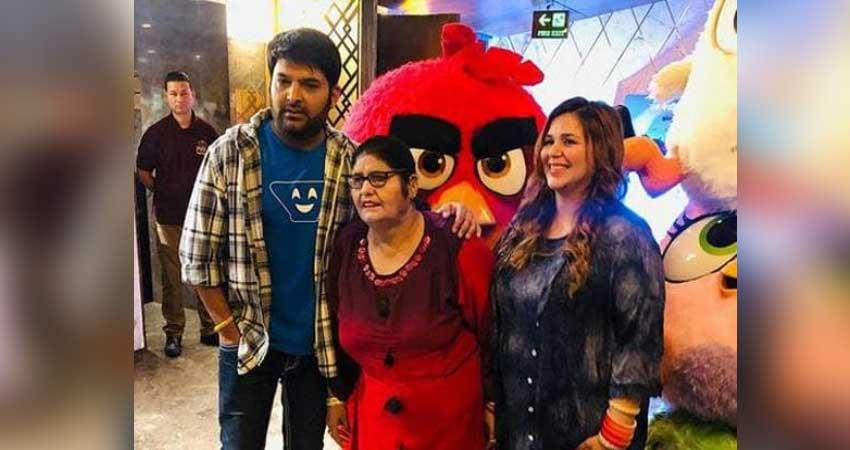 angry birds 2 screening kapil sharma reached with family
