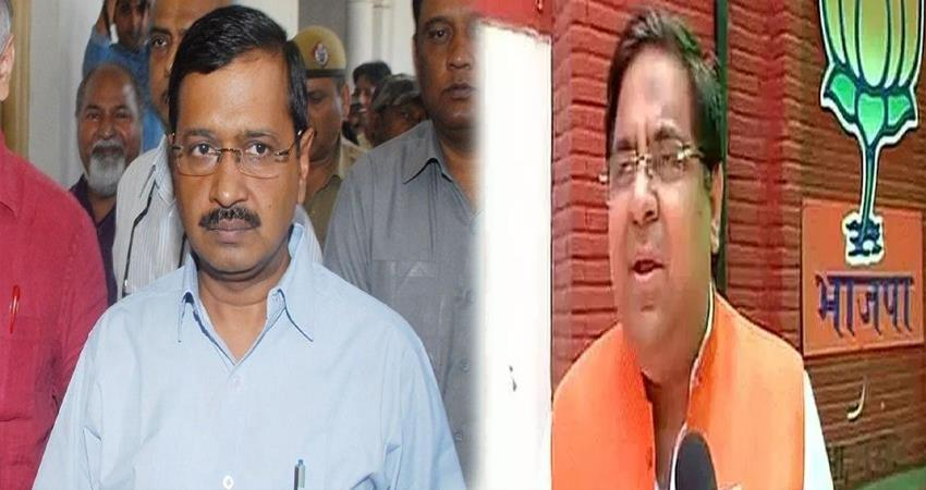 bjp attack on cm kejriwal for flase claim of 1000 new buses in delhi