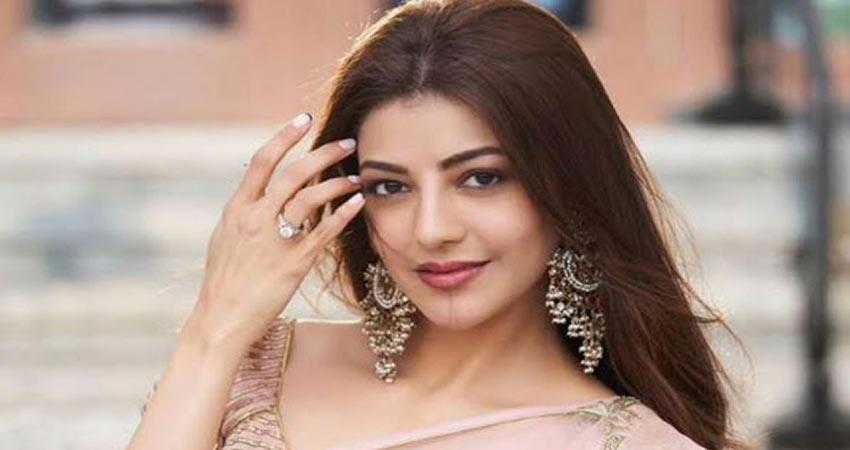 kajal aggarwal first picture as bride before wedding jsrwnt