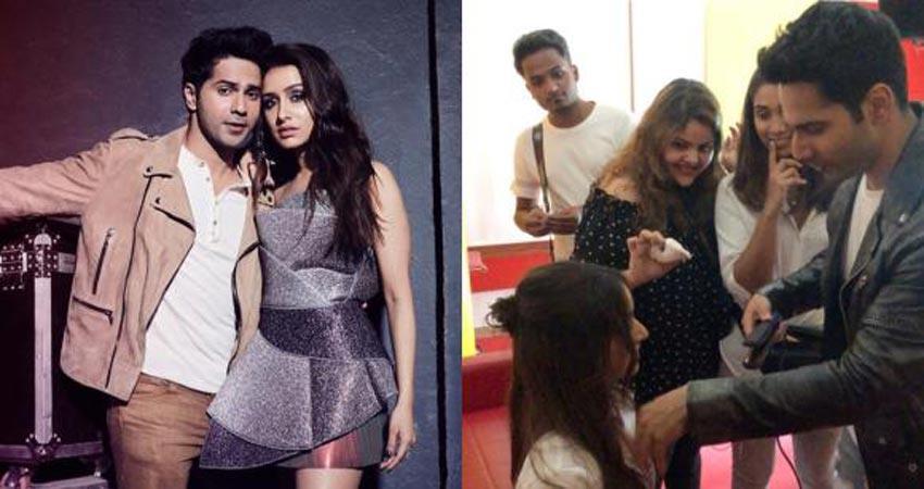varun dhawan become shraddha kapoor hair stylist video viral on internet