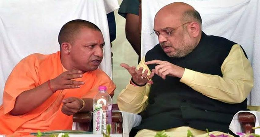 amit shah reached lucknow to shake the pulse of ayodhya verdict