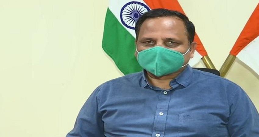 covid cases are rapidly increasing in delhi said satyendar jain kmbsnt