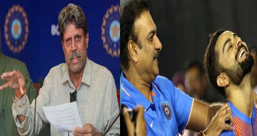 List of candidates released for the head coach of the cricket team, Five candidates got this place