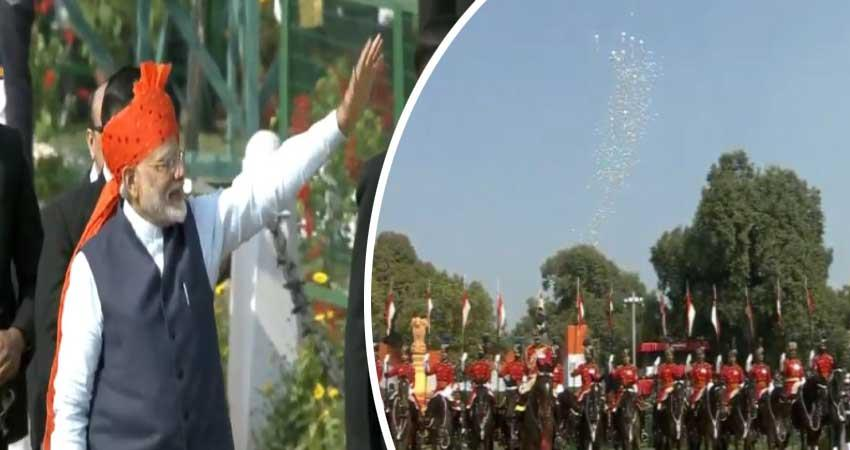 president salute parade rajpath 71st republic day