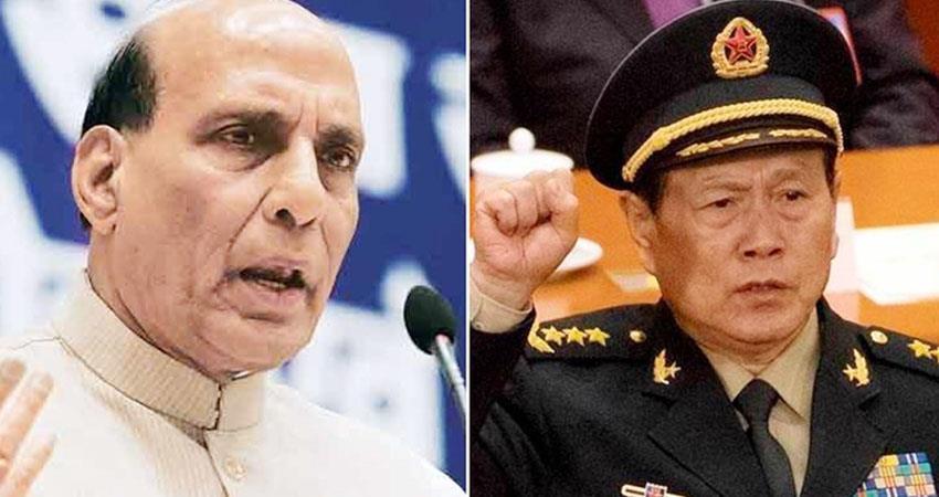 china''''s defense minister wants to meet rajnath singh jaishankar talks are the only option