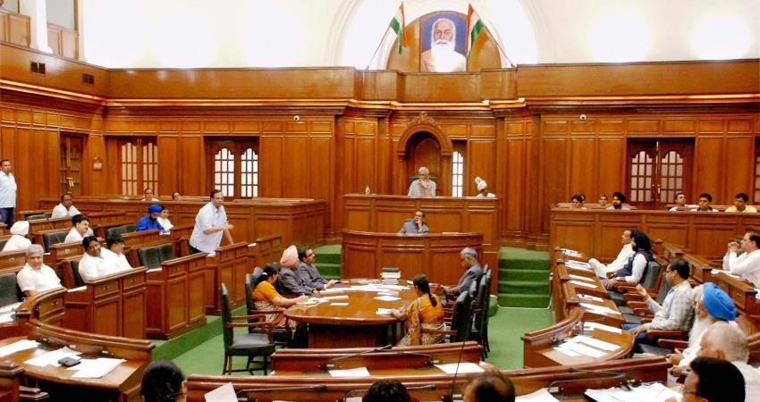 delhi assembly 2 days session start today 02 december