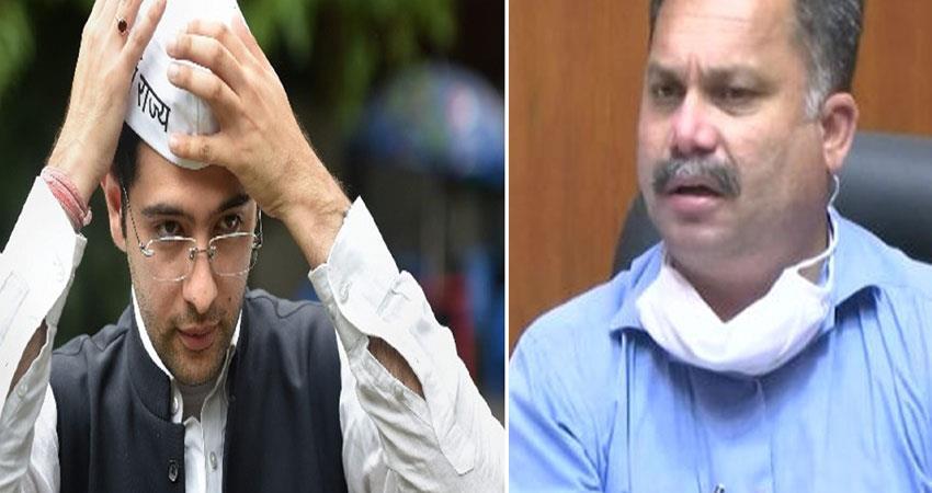 raghav chadha open challenge to goa electricity minister anjsnt