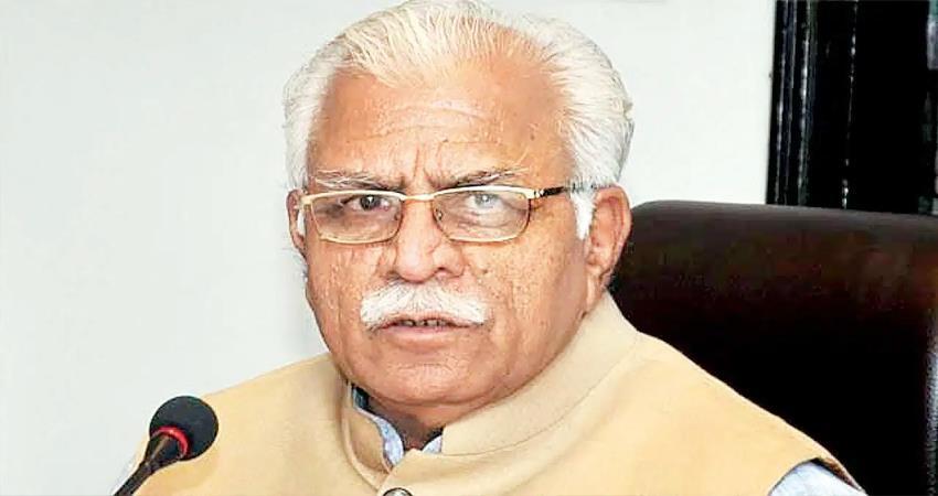 in place of bharat mata ki jai, congress says sonia mata ki jai manohar lal khattar