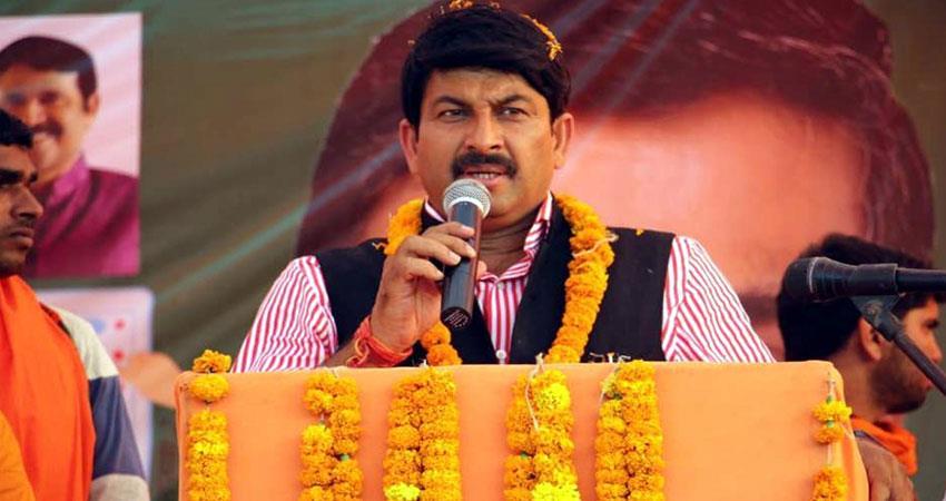 manoj tiwari can resign bjp delhi unit chief jp nadda arvind kejriwal