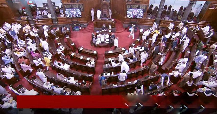 monsoon session: deadlock continues in parliament adjourned musrnt