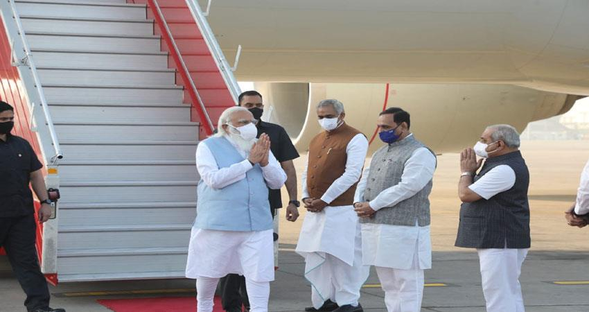 pm modi to reach kevadia in gujarat musrnt