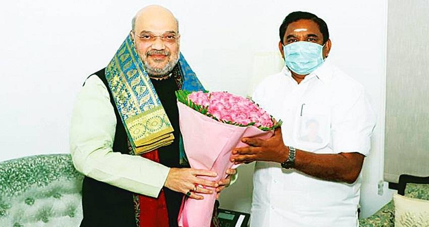 tn assembly election eps in delhi sasikalas return alliance may be discussed kmbsnt