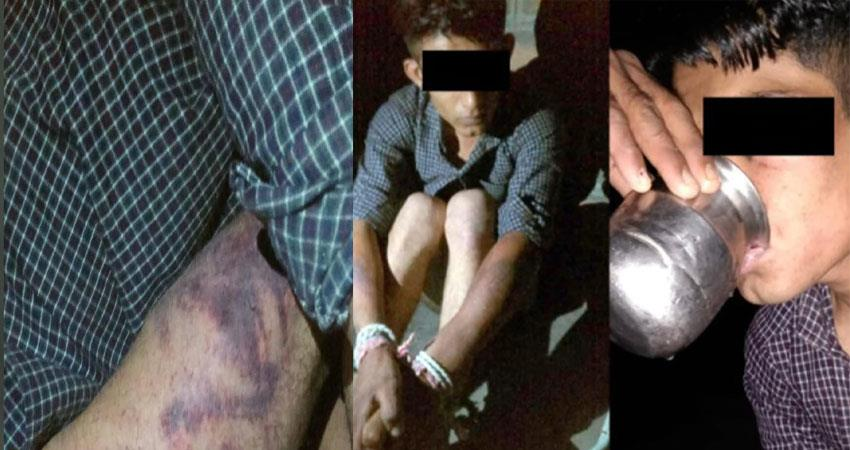 rajasthana young man was beaten with an iron rod and fed urine anjsnt