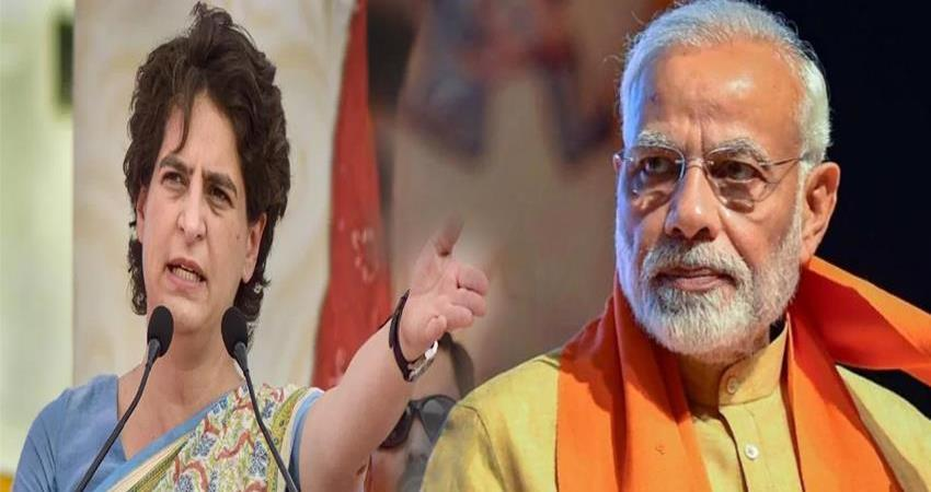 economy in crisis priyanka gandhi vadra on bjp government