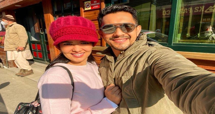 aditya narayan shared a video from his honeymoon sosnnt