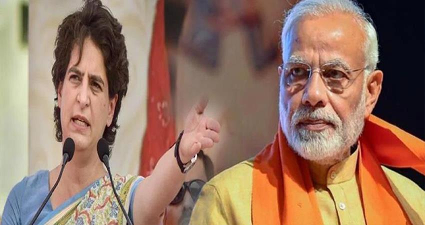 economic slowdown priyanka gandhi attack on narendra modi government via tweet