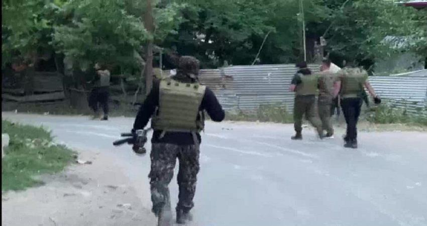 encounter between security forces and militants in sopore area of jammu and kashmir sohsnt