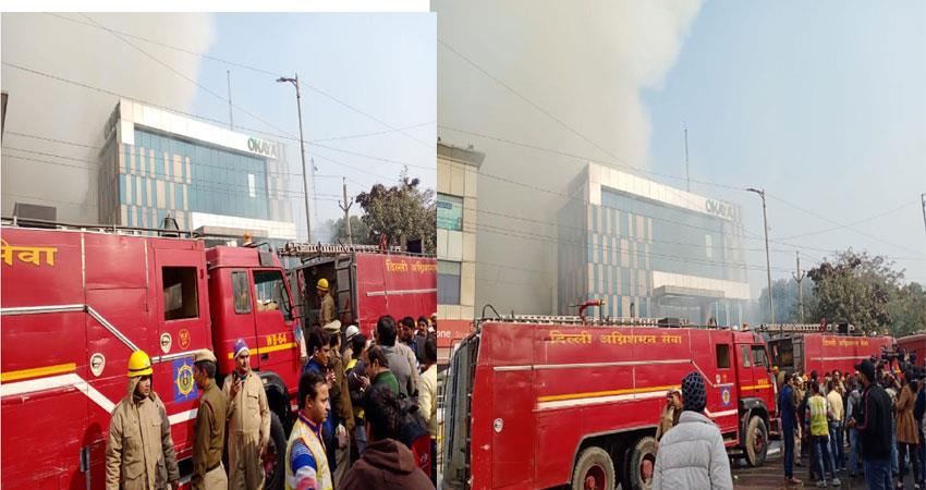 fire broke out factory peeragarhi west delhi