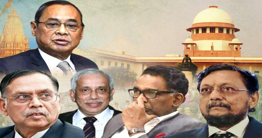 5 judges profile of supreme court who gave ayodhya case verdict