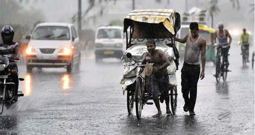 monsoon may knock in uttar pradesh today kmbsnt