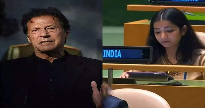 know who is sneha dubey, who gave a befitting reply to imran khan in un musrnt