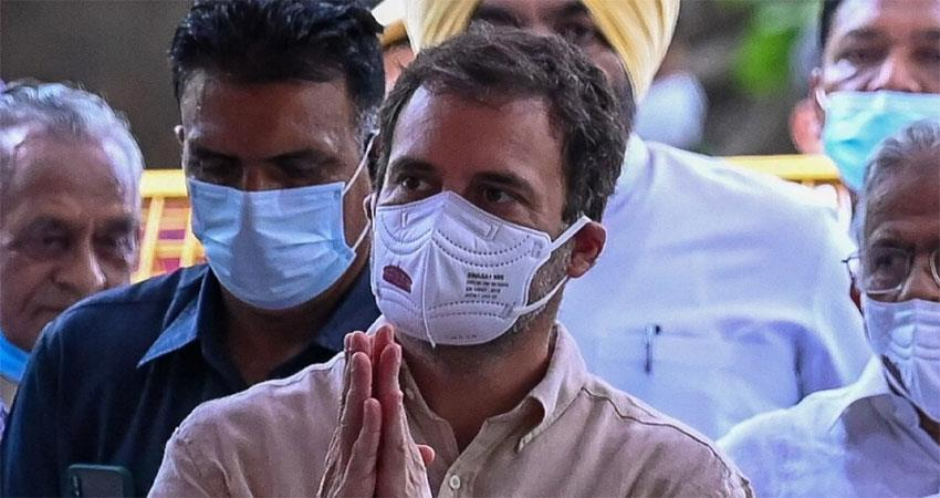 rahul gandhi lashed out on twitter, said- interfering in india''''''''s political process musrnt