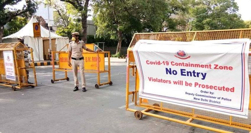 Corona Out of Control in Delhi no of Containment Zones increases up to 4550 DJSGNT