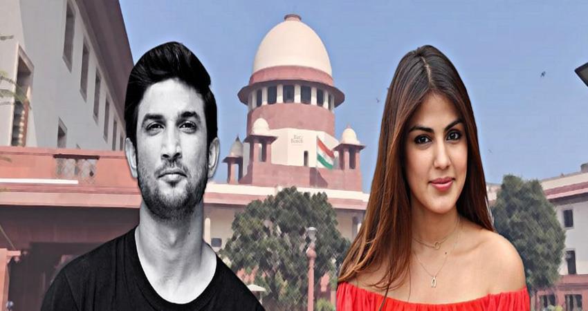supreme court hearing on rhea chakraborty petition sosnnt