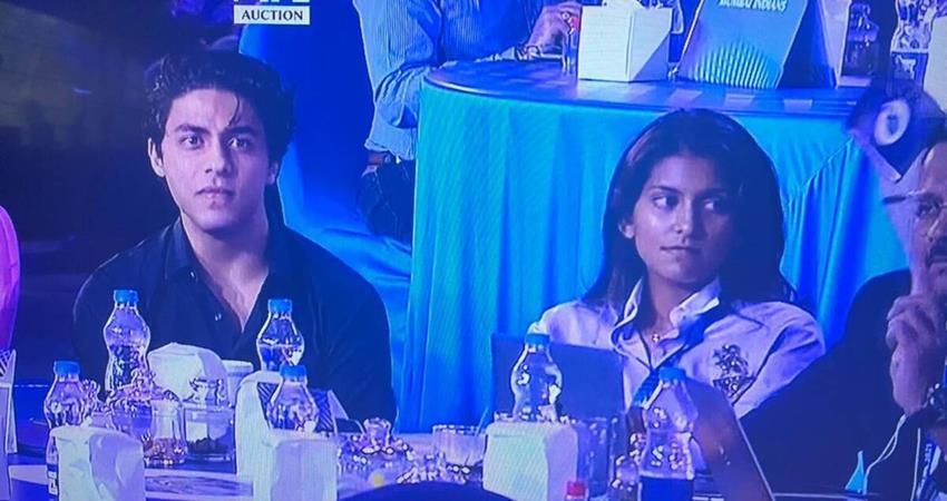 fans make fun of shahrukh on aryan khan at ipl auction sosnnt