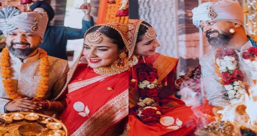 angira dhar anand tiwari secret wedding sosnnt