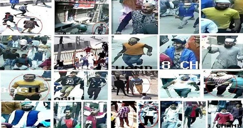 police released photos of 20 accused in connection with delhi riots sohsnt