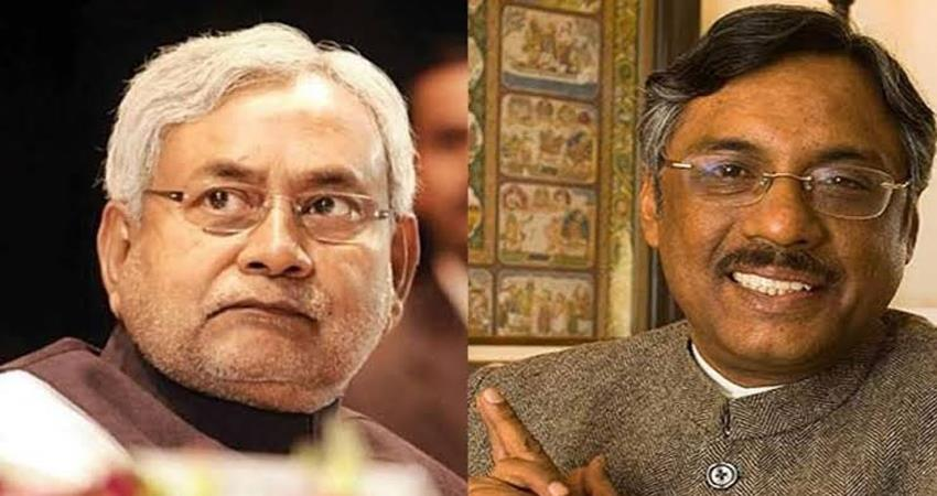 nitish kumar reply to pawan verma over bjp jdu alliance delhi elections 2020