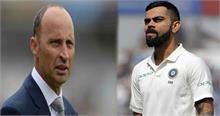टीम इंडिया पर इंग्लैंड के पूर्व कप्तान नासिर हुसैन ने कसा तंज, बताया- बच्चों की टीम