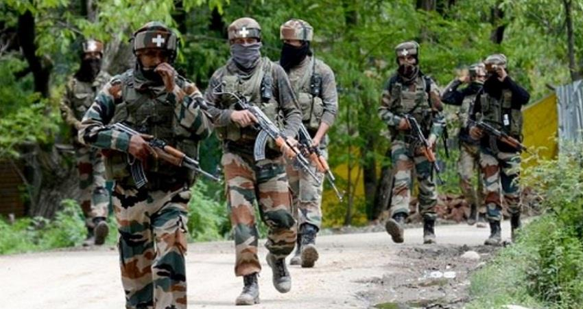 local people pelted stones at security forces in budgam sohsnt
