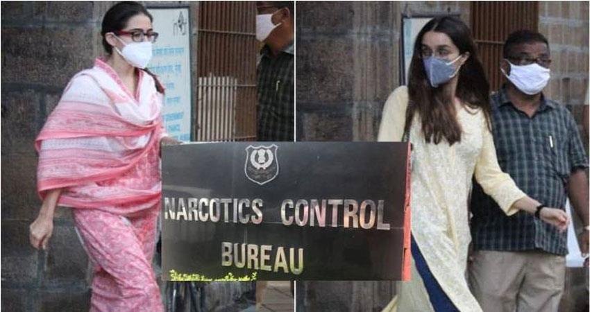 ncb big mistake bollywood drugs case enquiry sara and shradhakapoor anjsnt