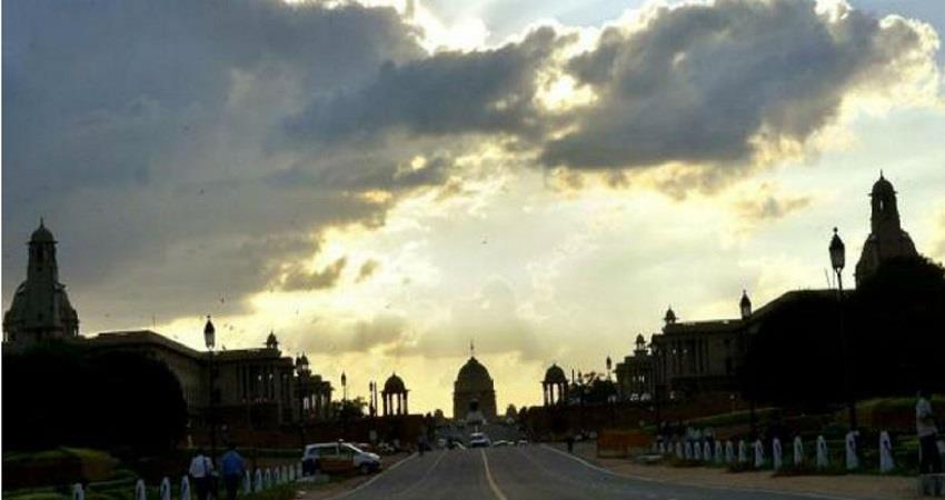 delhi weather forecast monsoon alert kmbsnt
