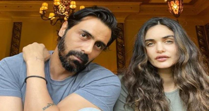 gabriella demetriades shares pictures with arjun rampal and son arik