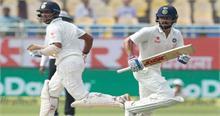AUSvIND: दूसरे दिन का खेल खत्म होने तक भारत ने 3 विकेट खोकर बनाए 172 रन