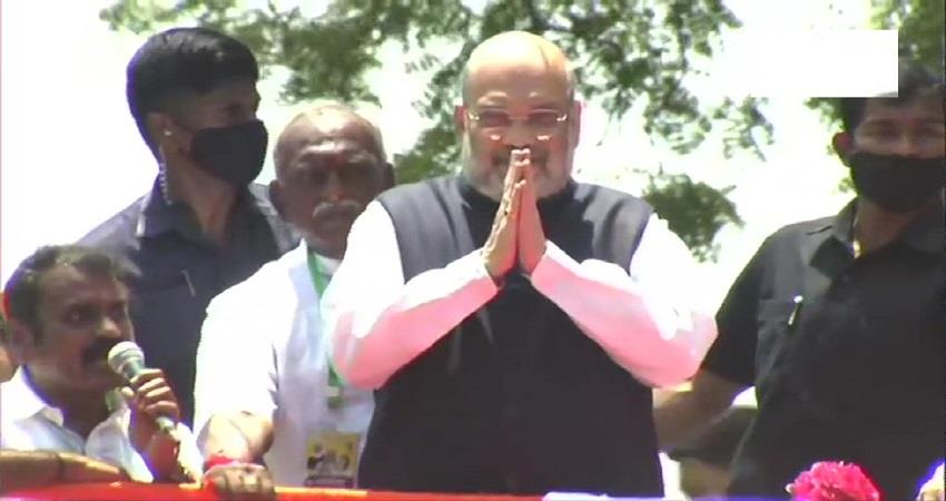 union home minister amit shah to visit tamil nadu and kerala today kmbsnt
