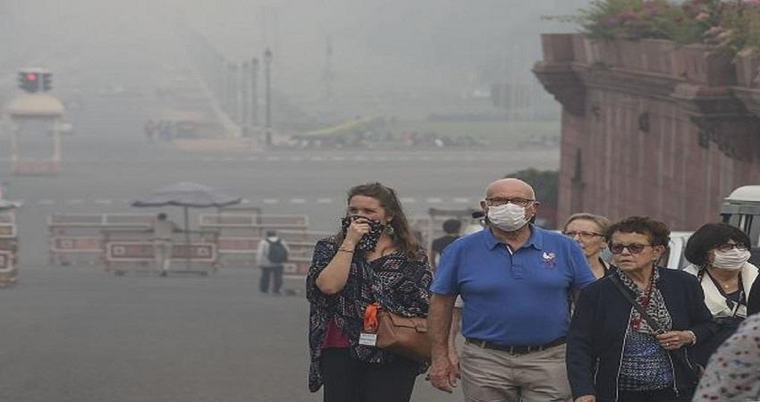 delhi weather changing air may be polluted kmbsnt
