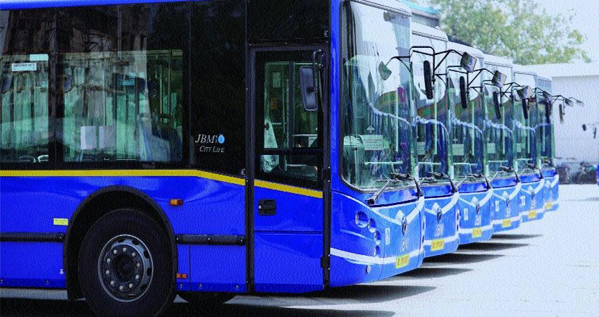 cm arvind kejriwal introduce new ac bus in delhi