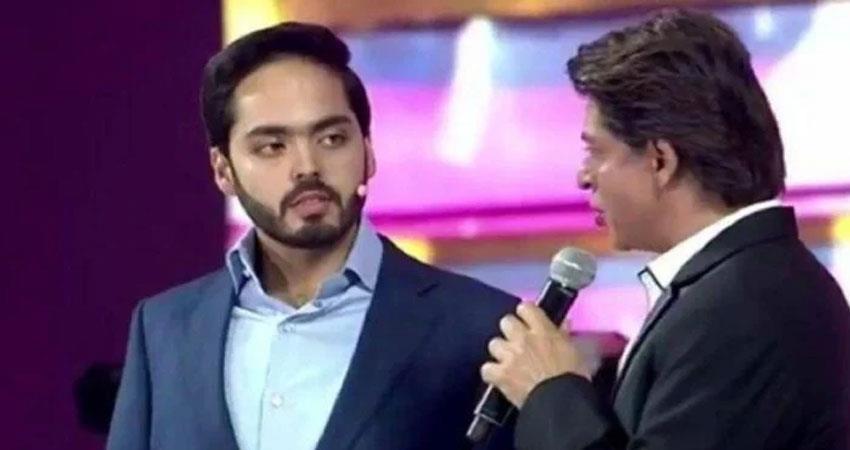 srk shah rukh khan asked mukesh ambani son  his first salary